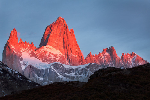 travel mountain argentina sunrise landscape fitzroy dailynaturetnc12