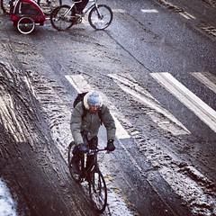 Winter's last stand. #vikingbiking #copenhagen #cyclechic