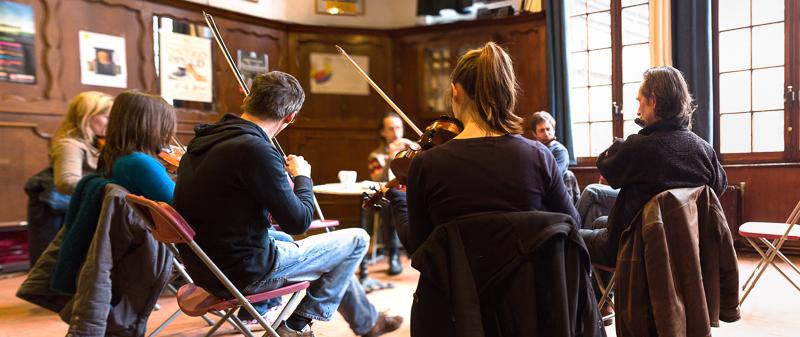 Ierse jam Folk in 't Stad - maart 2013