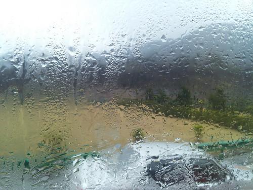 车窗外的小雨