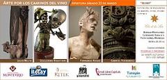 Nueva edición de Arte en los Caminos del Vino en Bodega Monteviejo