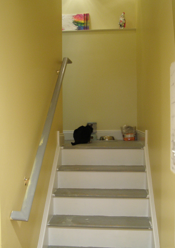 ~ basement stairwell project