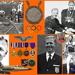 Cliff Cushman--1960 Olympic Silver Medalist in the 400m hurdles; American Hero: 1966 missing-in-action F-105D fighter pilot, downed over North Vietnam, awarded the Silver Star