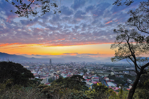 sunset beautiful night ed photography amazing view angle hometown g wide taiwan 28 台灣 incredible kuo ultra 風景 afs puli 埔里 晚霞 黑卡 火燒雲 swm 2013 1424 盆地 moson 夕燒
