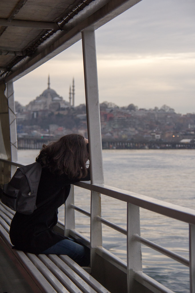 Lost in thought on the Golden Horn