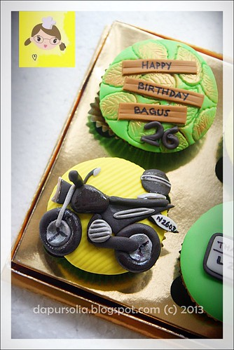 Cupcake Set for Bagus