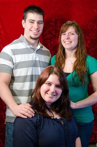 Jason, Kat, Christine