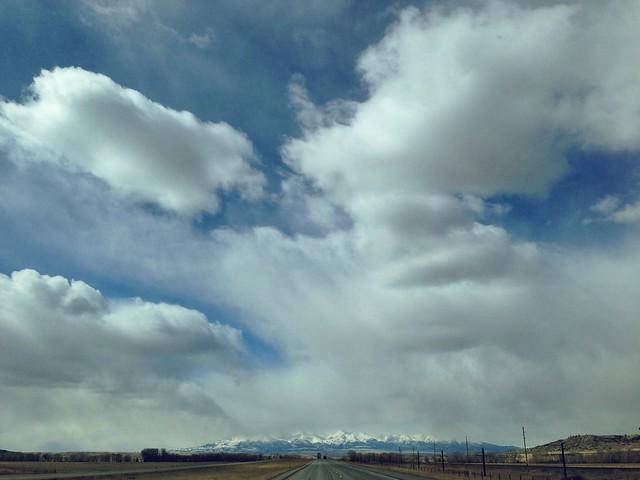 I-90 West. Montana