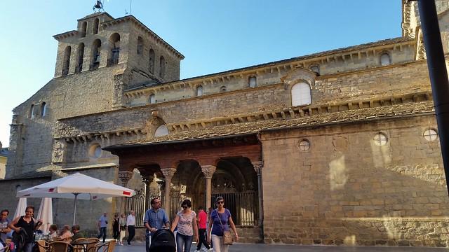 Catedral románica de Jaca. Huesca. España