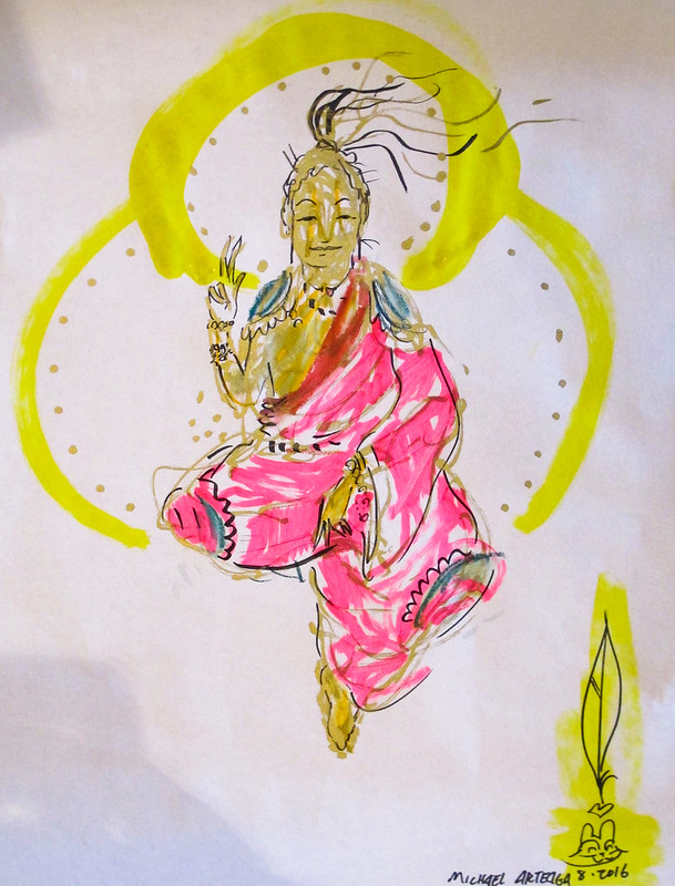 Give away: Drawings for monks