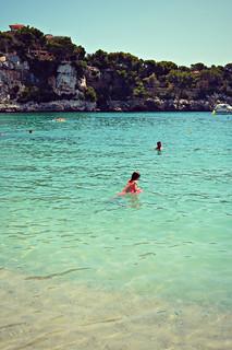 Image de Platja de Portocristo / Platja del Port de Manacor / Cala Manacor Plage d'une longueur de 271 mètres près de Sant Llorenç des Cardassar. spain mallorca holidays summer beach porto cristo