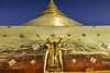 The golden Elephant at Wat Phra Singh