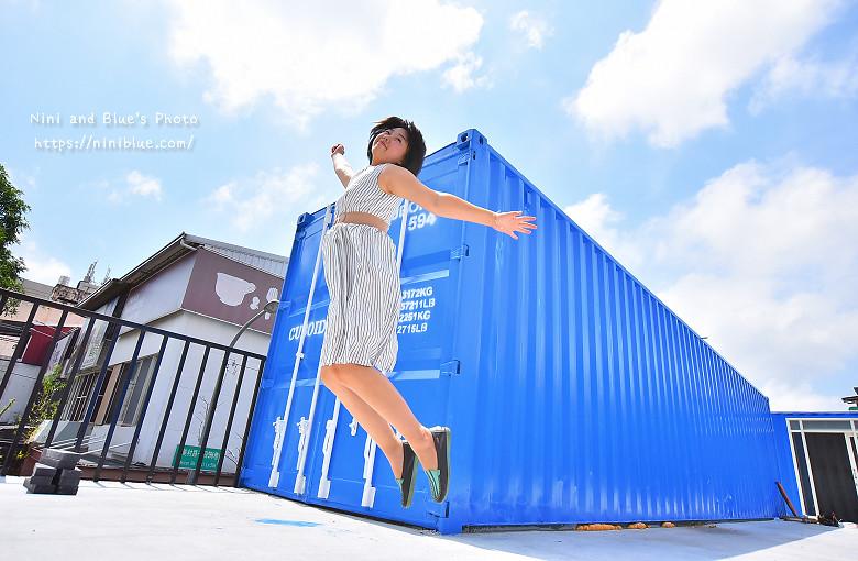 Cuboid台中人氣貨櫃冰飲藍色貨櫃17