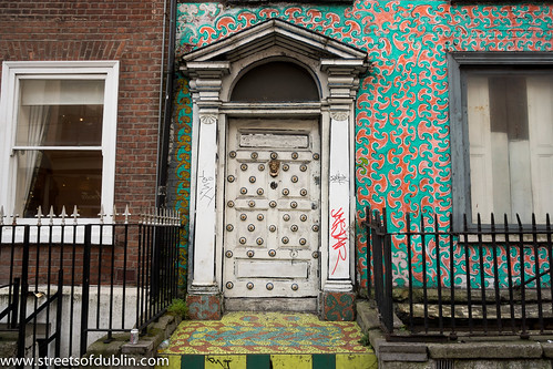 Strange Door On Abbey Street (Dublin) by infomatique