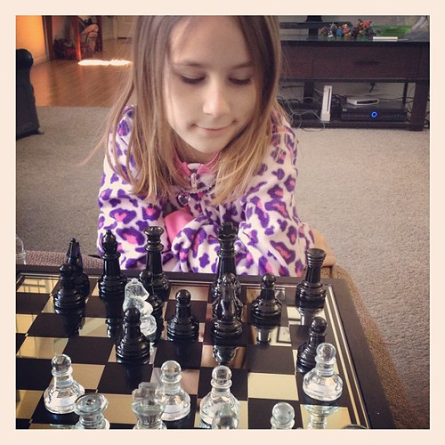 Whatever Mom, I'm going to kick your chess butt #allhailhala