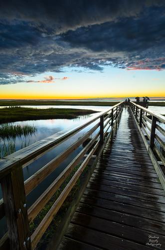 usa nature clouds reflections ma capecod estuary marsh yarmouth habitat glassy basshole blinkagain