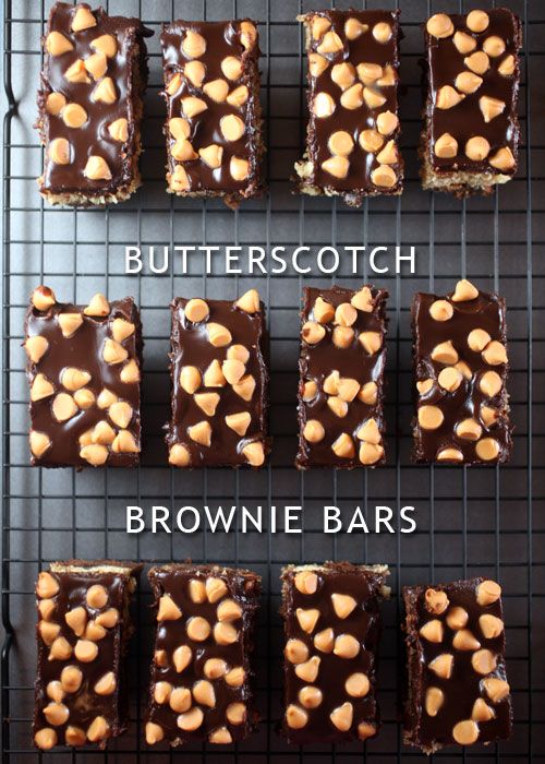 Butterscotch Brownie Bars