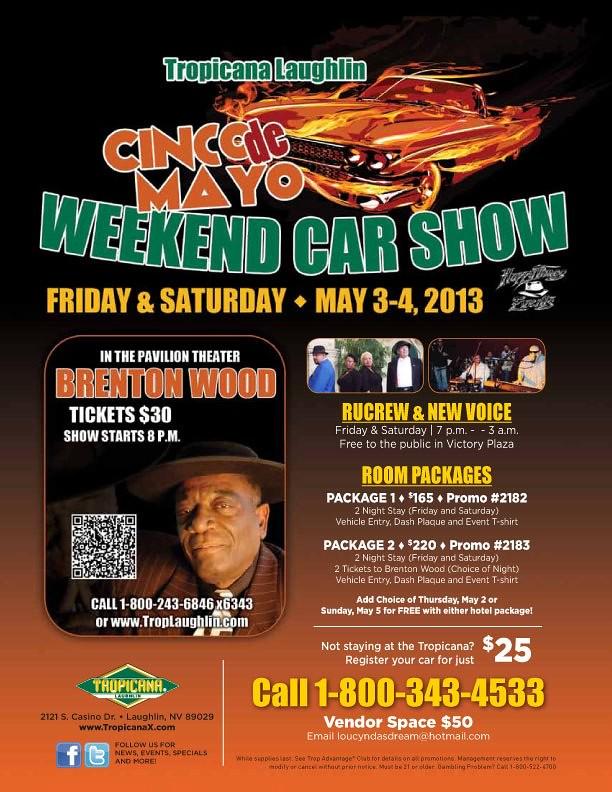 Cinco De Mayo Car Show At Tropicana Laughlin Chevy Impala Forums - Laughlin car show 2018