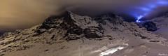 Le phare de la Jungfrau et le ballet des dameuses