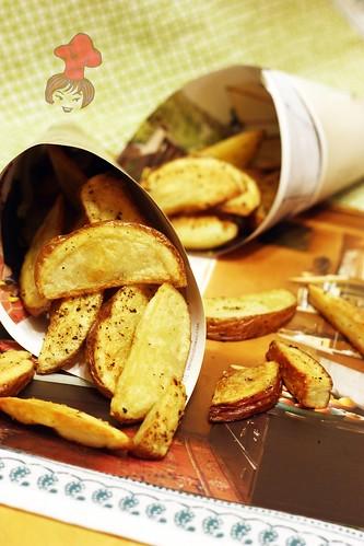 烤薯條 Oven Baked French Fries  2