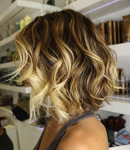 Blonde Ombre Hair Short Shoulder Length Hairstyle That Is Flickr