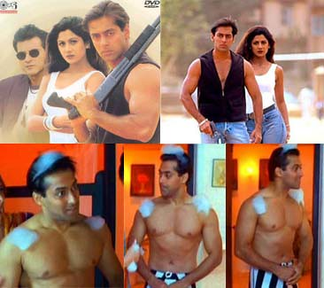 Salman Khan of 1997, in the movie Auzaar and Judwa