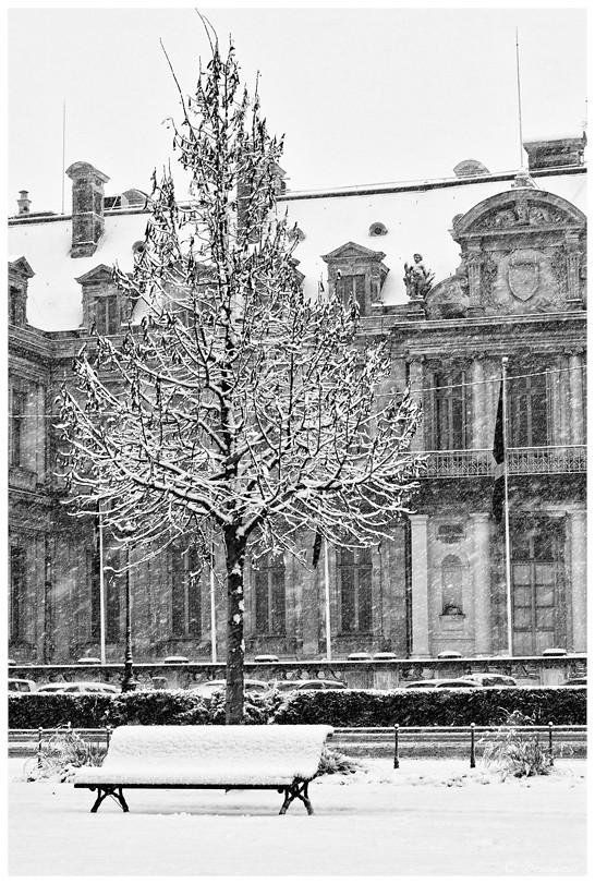 Grenoble sous la neige Variante