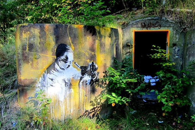 stencil | ken aka plotbot | klosterfelde . artbase 2012