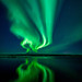 Aurora Reflected In Þingvallavatn by Friðþjófur M.