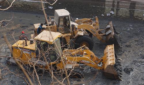 护城河淤泥