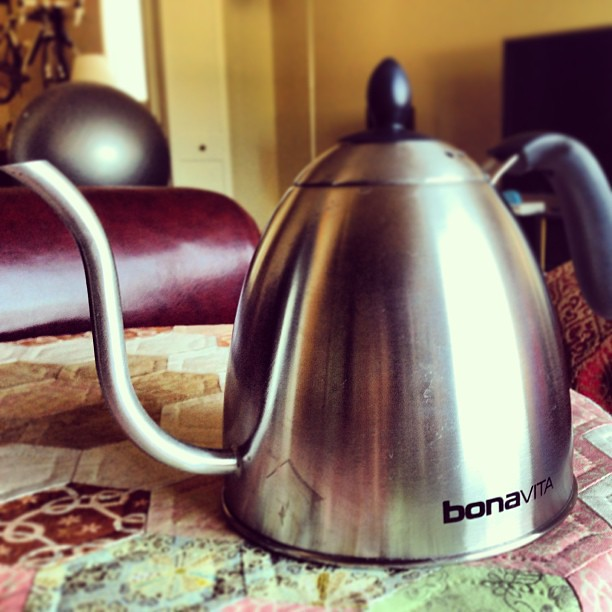 New coffee kettle just arrived.