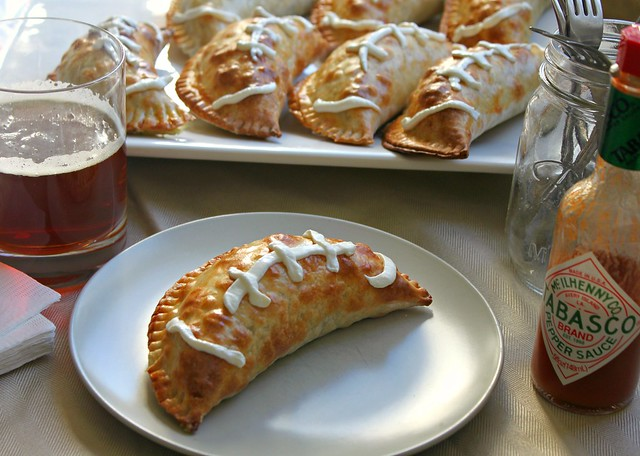 football empanadas for super bowl