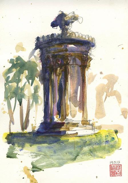 130119 Sketchcrawl 38_3 Botanic Gardens