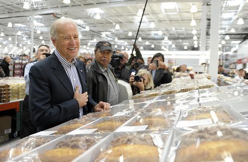 Biden at Costco