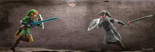 Link vs Dark Link - Figma