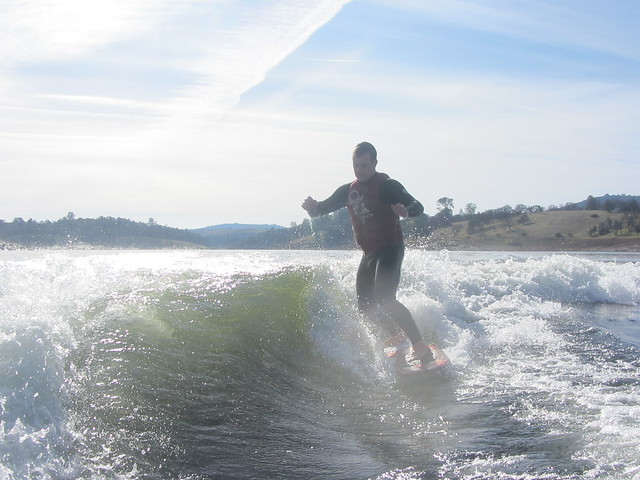Mid January Wakesurfing 275