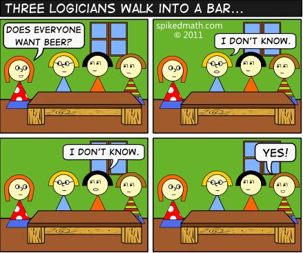 three-logicians