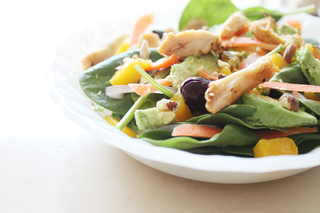 mango chicken salad 3