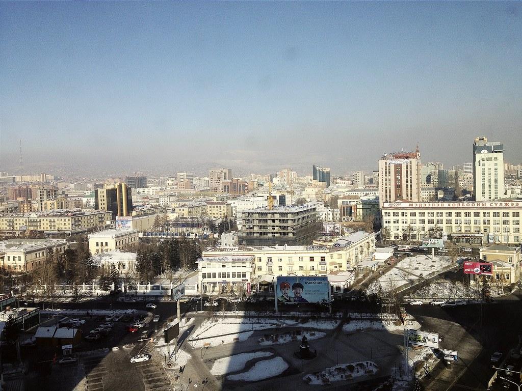 Ulaanbaatar in winter