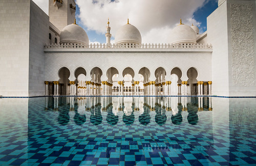 Explored ~ Sheikh Zayed Mosque, Abu Dhabi