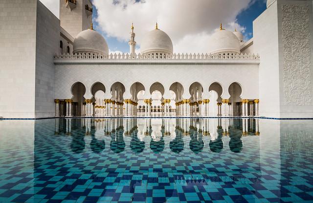 La espectacular Mezquita Sheikh Zayed en Abu Dabi 8413081229_4d1e93c1a6_z