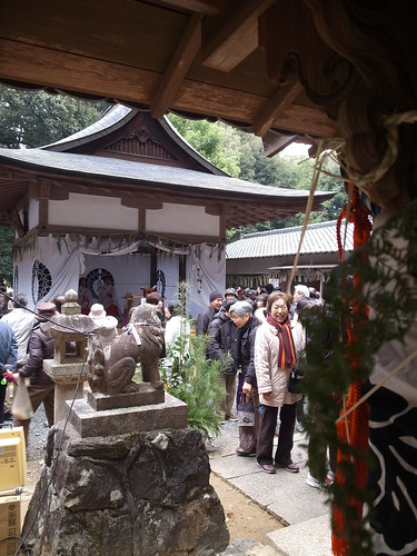 Shrine on New Year's Day