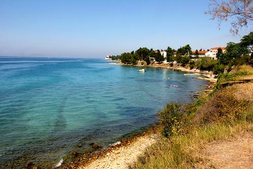Beach of Zadar