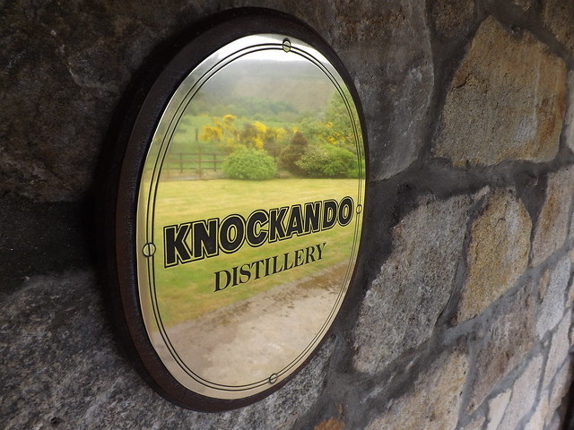 Knockando Distillery Brass Sign