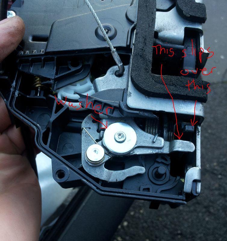 Drivers Door Lock Replacement Repair The Fiat Forum