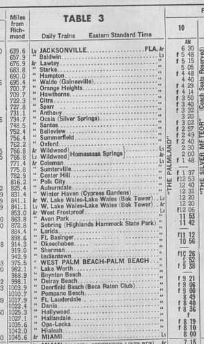 SAL 1949 Jacksonville Miami