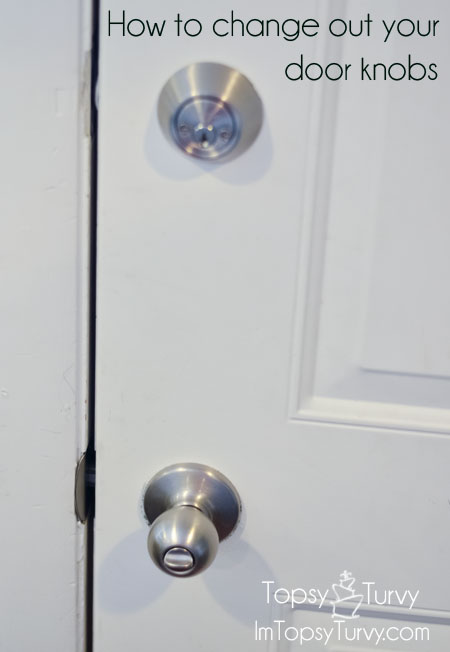 Change Your Own Door Knob