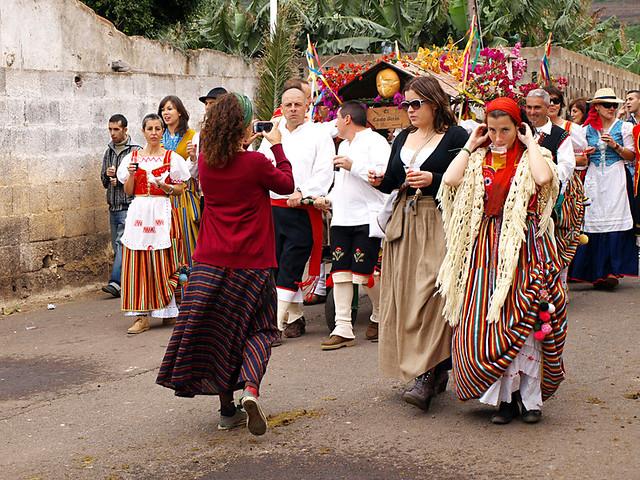 Romeria, San Abad, Buenavista del Norte, Tenerife