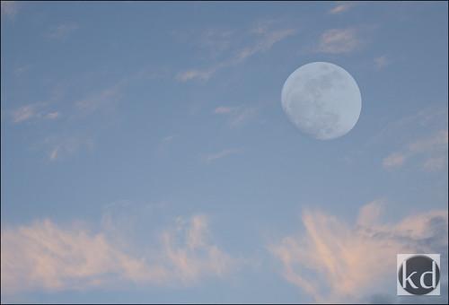 sunset moon clouds nikon bluesky luna crescent fullmoon solarsystem moonphases crescentmoon nightmagic impactcraters nikond90 wesleychapelfl nikond90club volcanicmaria