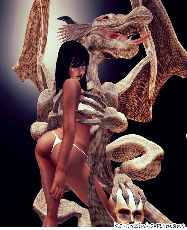 lingerie Toxic Bish Angel Bish Set2